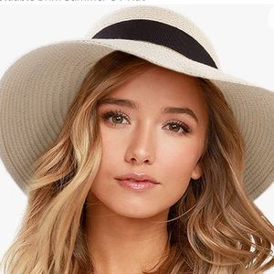 NWT Adjustable Straw Hat UVP 50+ ☀️ Protection